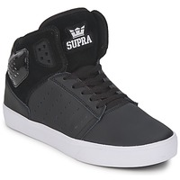 Shoes Men High top trainers Supra ATOM Black / White