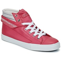 Shoes Women High top trainers Bikkembergs PLUS 647 Pink / Grey