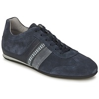 Shoes Men Low top trainers Bikkembergs SPRINGER 99 Blue