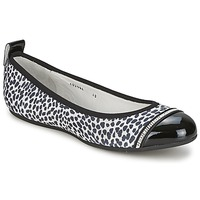 Shoes Women Ballerinas Bikkembergs BASAR 910 Black / White