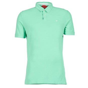 material Men short-sleeved polo shirts Vicomte A. GARMENT DYE Green