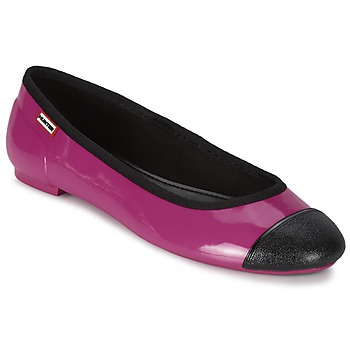 Shoes Women Ballerinas Hunter ORIGINAL BALLET FLAT Raspberry