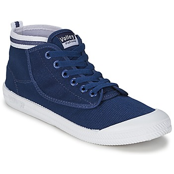 Shoes Men High top trainers Volley HIGH LEAP Navy / White
