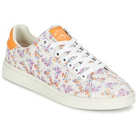 Shoes Women Low top trainers Pepe jeans CLUB FLOWERS White