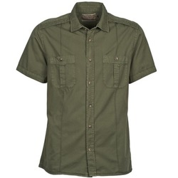 material Men short-sleeved shirts Chevignon C MILITARY TWIL Green