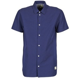 material Men short-sleeved shirts Suit DAN S Blue