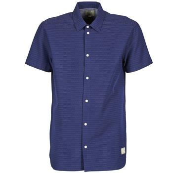 material Men short-sleeved shirts Suit DAN S Blue