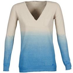 material Women jumpers Gas DESHI BEIGE / Blue