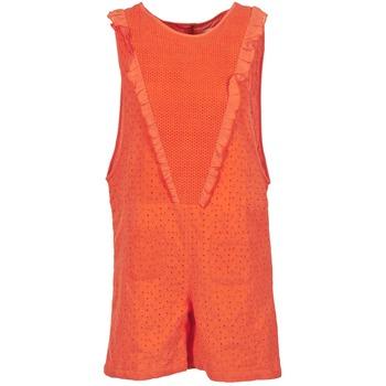 material Women Jumpsuits / Dungarees Brigitte Bardot BB44084 Coral