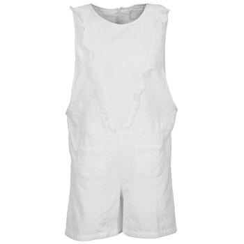 material Women Jumpsuits / Dungarees Brigitte Bardot BB44084 White