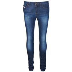 material Women slim jeans Diesel SKINZEE Blue