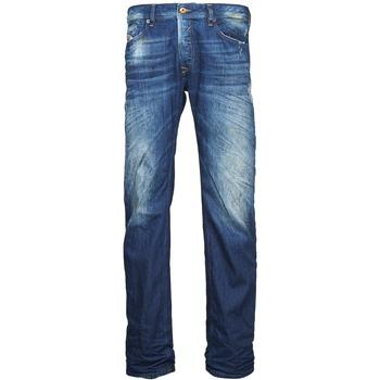 material Men straight jeans Diesel WAYKEE Blue