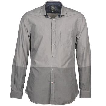 material Men long-sleeved shirts Diesel SAUSAN Grey