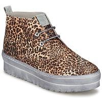 Shoes Women High top trainers Ylati BAIA F Leopard