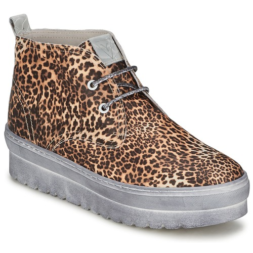 Shoes Women High top trainers Ylati BAIA F Leopard