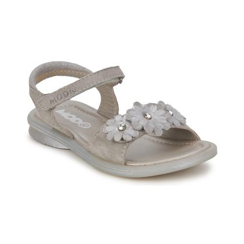 Shoes Girl Sandals Mod'8 JUKA Silver