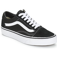 Shoes Low top trainers Vans OLD SKOOL Black / White