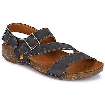 Shoes Women Sandals Art I BREATHE Licorice