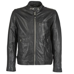 material Men Leather jackets / Imitation le Schott BLODOU Black