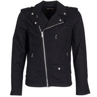 material Men Denim jackets Schott JOHN Black