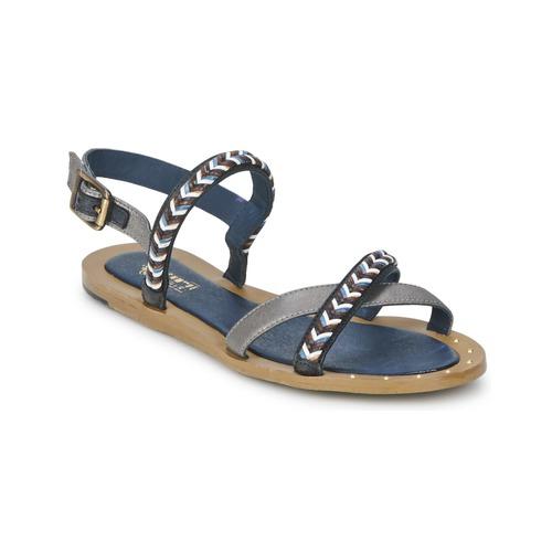 Shoes Women Sandals Schmoove MEMORY LINK Silver / Marine