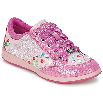 Shoes Girl Low top trainers Lelli Kelly GLITTER-ROSE-CALIFORNIA Pink