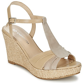 Shoes Women Sandals Studio Paloma LUCREZIA BEIGE