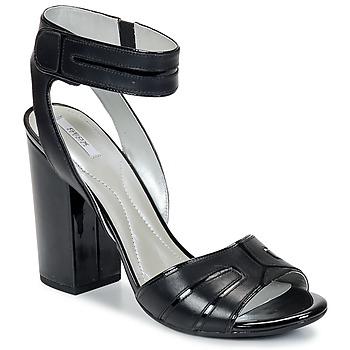 Shoes Women Sandals Geox NOLINA Black