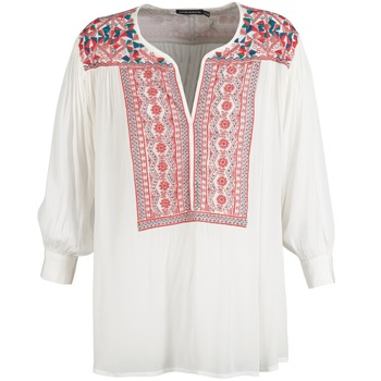 material Women Blouses Antik Batik CAREYES White