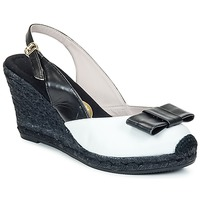 Shoes Women Sandals RAS FROI Black / White