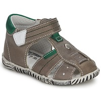 Shoes Boy Sandals Primigi QUINCY Grey / Green