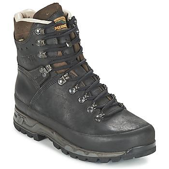 Shoes Men Hiking shoes Meindl ISLAND MFS ACTIVE Black / Brown