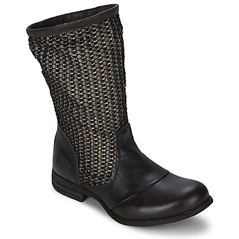 Shoes Women Boots Bunker SARA SOL Brown