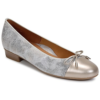 Shoes Women Ballerinas Ara ELIALE Grey / Gold