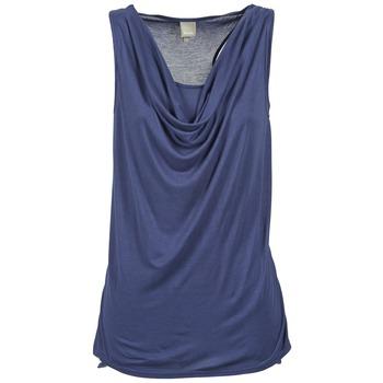 material Women Tops / Sleeveless T-shirts Bench DUPLE Blue