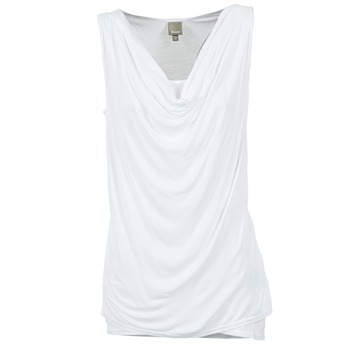 material Women Tops / Sleeveless T-shirts Bench DUPLE White