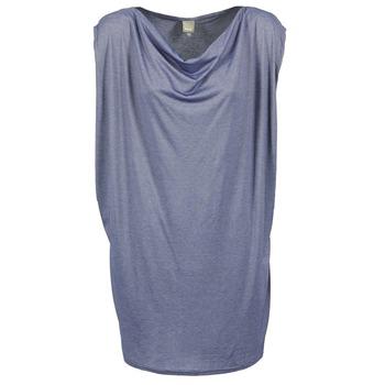 material Women Short Dresses Bench TRUISM Blue