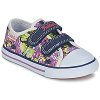 Shoes Girl Low top trainers Pablosky EJADINE Blue