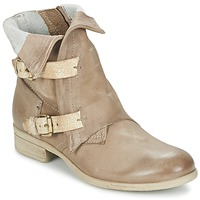 Shoes Women Mid boots Dream in Green ANJELIKA BEIGE