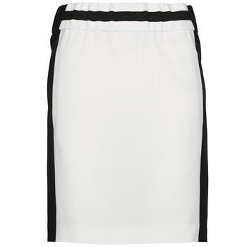 material Women Skirts Joseph RIA-TECHNO Black / White