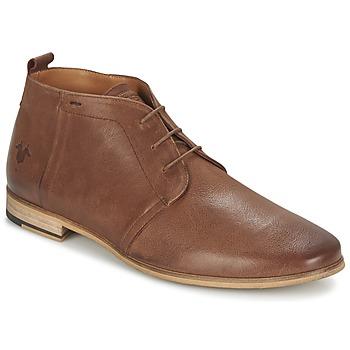Shoes Men Mid boots Kost ZEPI 47 COGNAC
