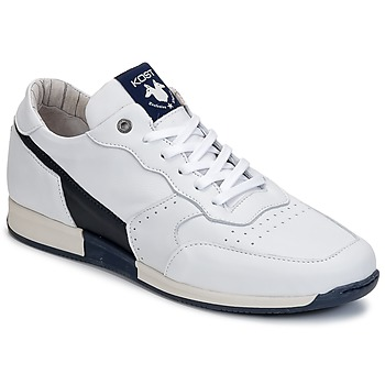 Shoes Men Low top trainers Kost HOOPER White / Marine