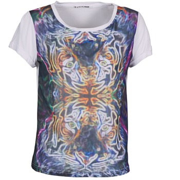 material Women short-sleeved t-shirts DDP PORIX Multicolour