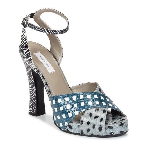 Shoes Women Sandals Marc Jacobs Elap Blue / White