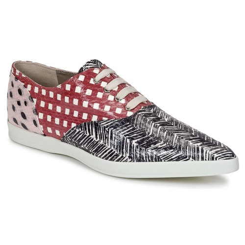 Shoes Women Derby shoes Marc Jacobs Elap Black / White / Red