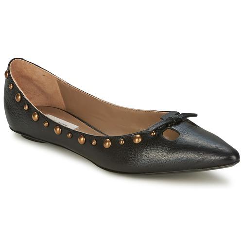 Shoes Women Ballerinas Marc Jacobs Capra Black