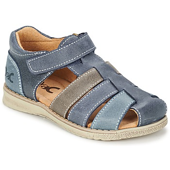 Shoes Boy Sandals Citrouille et Compagnie ZIDOU MARINE / Grey