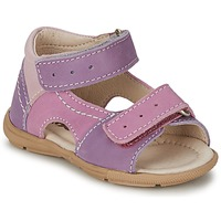 Shoes Girl Sandals Citrouille et Compagnie KIMMY G Lilac / Violet / Nuee