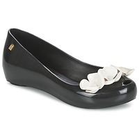 Shoes Women Ballerinas Melissa ULTRAGIRL XI Black / White