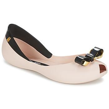 Shoes Women Ballerinas Melissa QUEEN IV Pink / Black